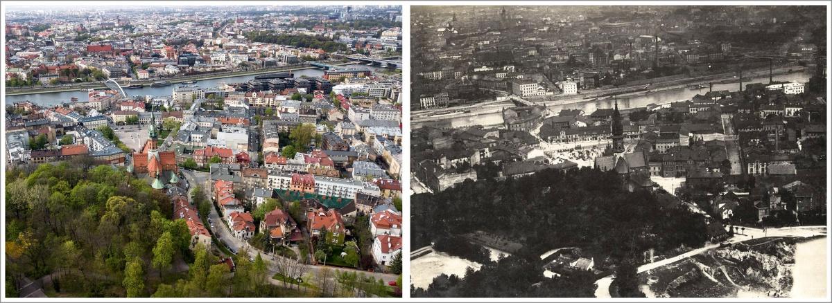 Kraków Podgórze i Wisła