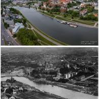 Wawel i bulwary wiślane