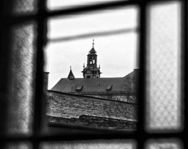 Kraków Wawel fotografia z nietypowych ujęć